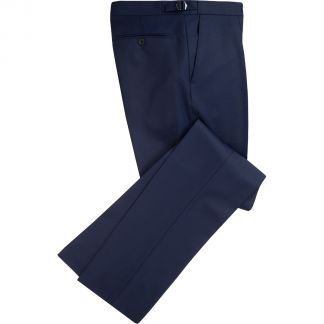Cordings Navy 9oz Three Button Clarke Twill Suit Different Angle 1