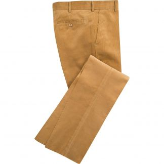 Cordings Mid Tan Needlecord Trousers Main Image