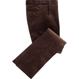 Cordings Brown Corduroy Trousers Main Image