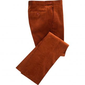 Cordings Cinnamon Corduroy Trousers Main Image