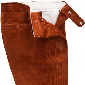 Cordings Cinnamon Corduroy Trousers Different Angle 1