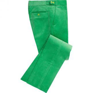 Cordings Mint Green Corduroy Trousers Main Image