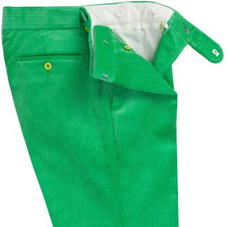 Cordings Mint Green Corduroy Trousers Different Angle 1