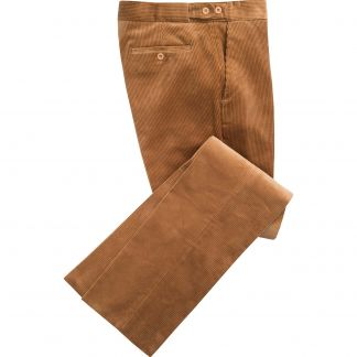 Cordings Tan Corduroy Trousers Main Image
