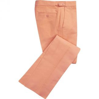 Cordings Peach Moleskin Trousers Main Image