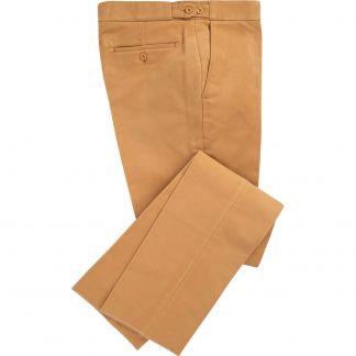 Cordings Camel Moleskin Trousers Main Image