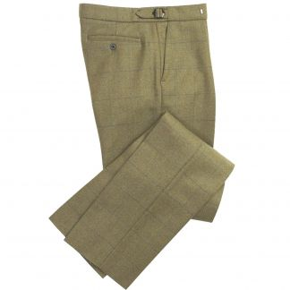 Cordings House Check Tweed Trousers Main Image