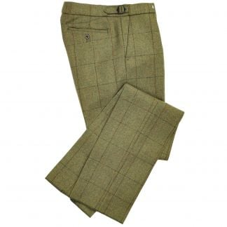 Cordings 21oz Windowpane Tweed Trousers  Main Image