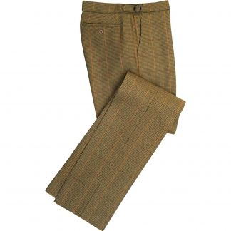 Cordings Sporting Check Tweed Trousers Main Image