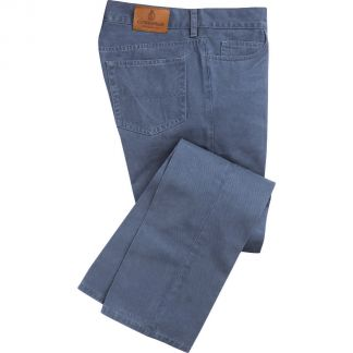 Cordings True Blue Cotton Twill Jeans Main Image