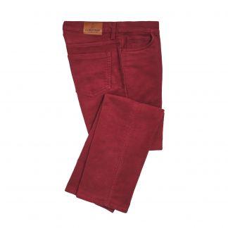 Cordings Red Stonecutter Moleskin Jean Main Image