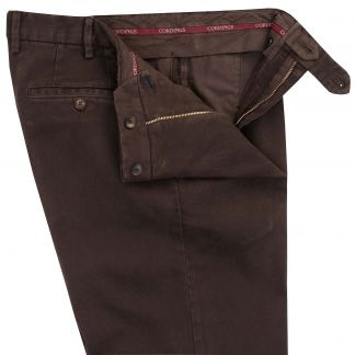 Cordings Brown Cattrick Heavy Drill Trouser Different Angle 1