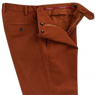 Cordings Cinnamon Cattrick Heavy Drill Trouser Different Angle 1
