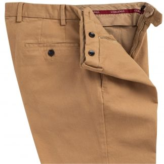 Cordings Khaki Cattrick Heavy Drill Trouser Different Angle 1