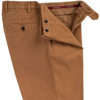 Cordings Fawn Cattrick Heavy Drill Trouser Different Angle 1