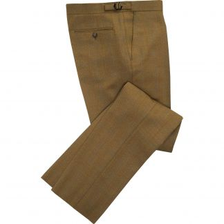 Cordings Redcar Lightweight Tweed Trousers Main Image