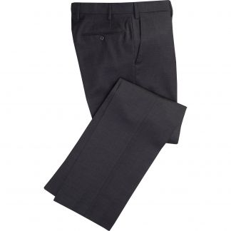 Cordings Charcoal Worsted Super 100's Trousers Main Image