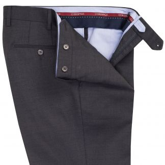 Cordings Charcoal Worsted Super 100's Trousers Different Angle 1