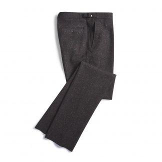 Cordings Grey Brown Donegal Trousers Main Image