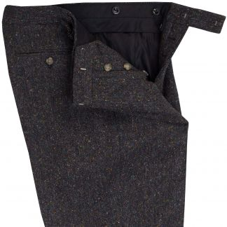 Cordings Grey Derry Irish Donegal Trousers Different Angle 1