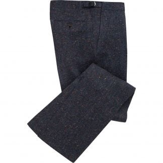 Cordings Navy Derry Irish Donegal Trousers Main Image