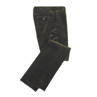 Cordings  Olive York Corduroy Trousers Main Image