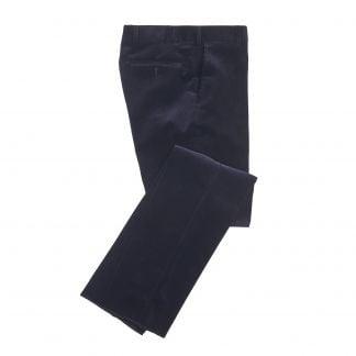 Cordings  Navy York Corduroy Trousers Main Image
