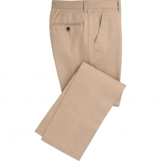 Cordings Stone Washed Twill Trousers Main Image
