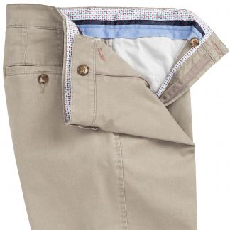 Cordings Stone Mowbray Washed Twill Trousers Different Angle 1