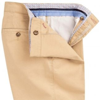 Cordings Yellow Mowbray Washed Twill Trousers Different Angle 1