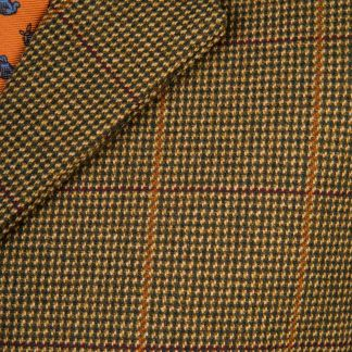 Cordings Sporting Check Tweed Waistcoat Different Angle 1