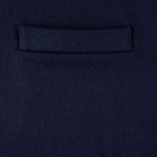 Cordings Navy Blue Collared Doeskin Waistcoat Different Angle 1