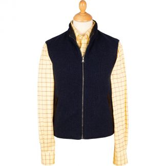 Cordings The Daventry Cashmere Reversible Gilet Main Image
