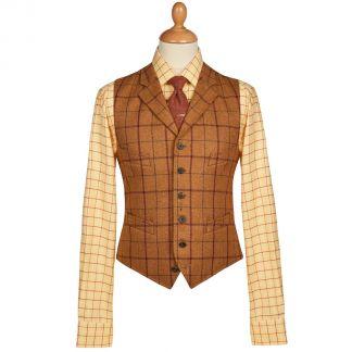 Cordings Skipton Yorkshire Tweed Waistcoat Main Image