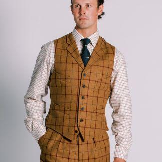 Cordings Skipton Yorkshire Tweed Waistcoat Different Angle 1