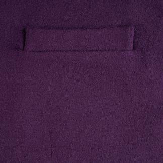 Cordings Deep Purple Collared Doeskin Waistcoat Different Angle 1