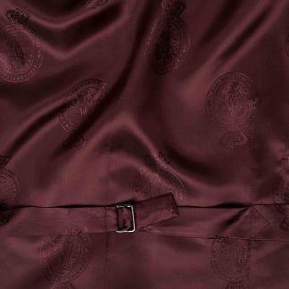 Cordings Navy Cotton Gabardine Drill Waistcoat Different Angle 1