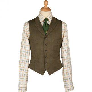 Cordings Elland Lightweight Tweed Waistcoat Main Image
