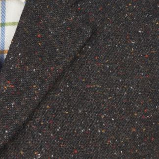 Cordings Grey Brown Donegal Tweed Waistcoat Different Angle 1