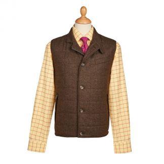 Cordings The Ebury Brown Shetland Waistcoat Main Image