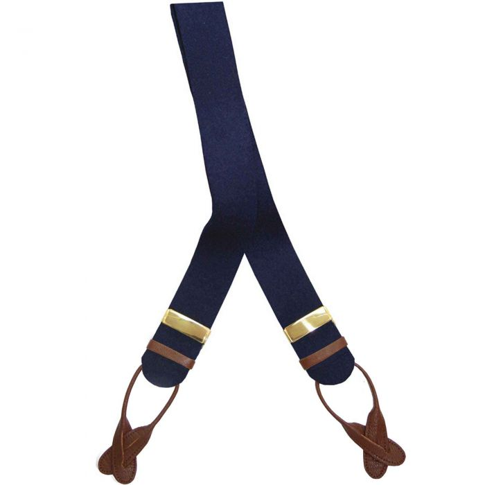 Navy Boxcloth Braces