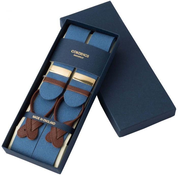 Blue Sky Boxcloth Braces