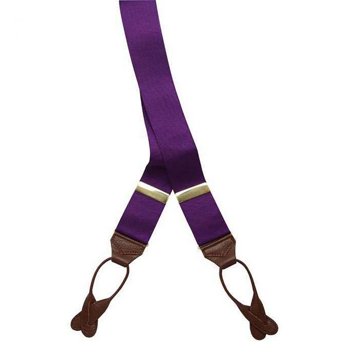 Purple Ribbon Braces