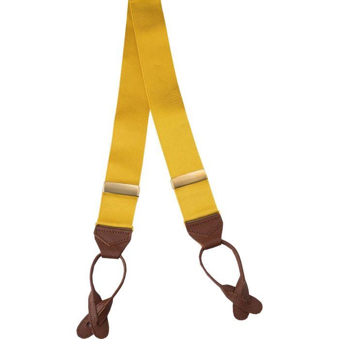 Yellow Gold Ribbon Braces