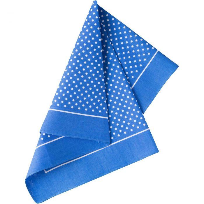 Blue Sky Spotty Cotton Bandana