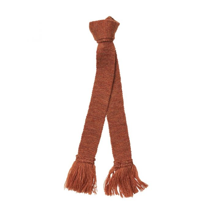 Cinnamon Brown Garter Tie