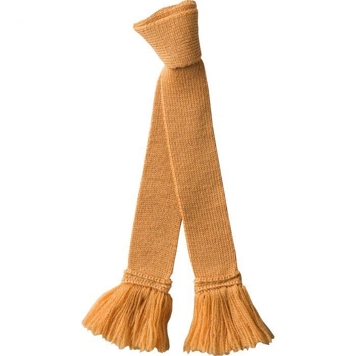 Gold Wool Garter Tie