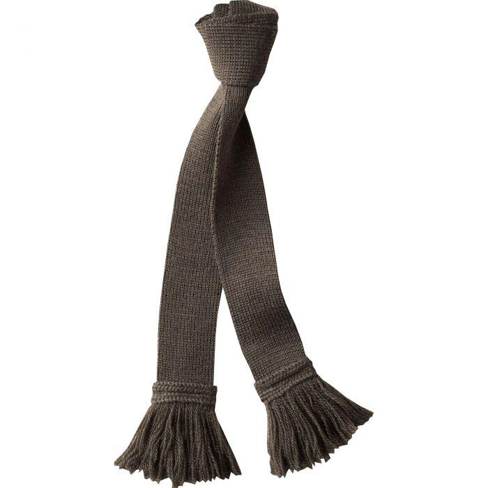 Olive Green Wool Garter Tie