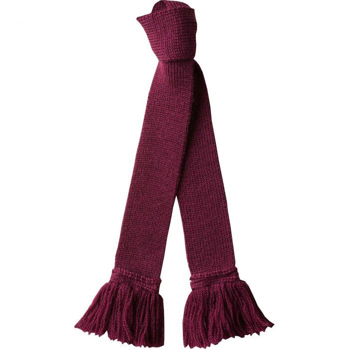 Wine Wool Garter Tie