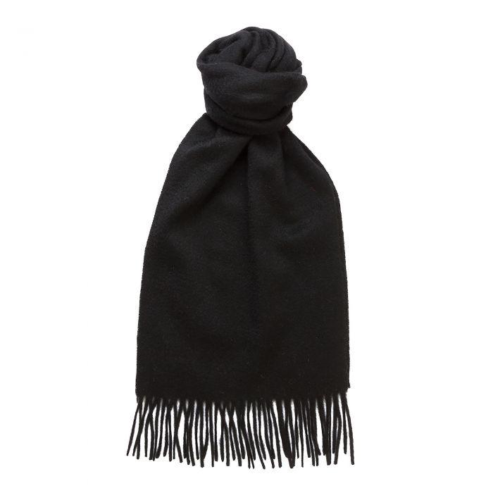 Black Speyside Cashmere Scarf